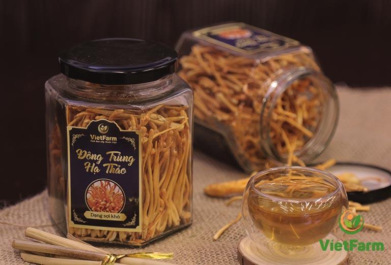 Có thể sử dụng Đông trùng hạ thảo để pha trà uống