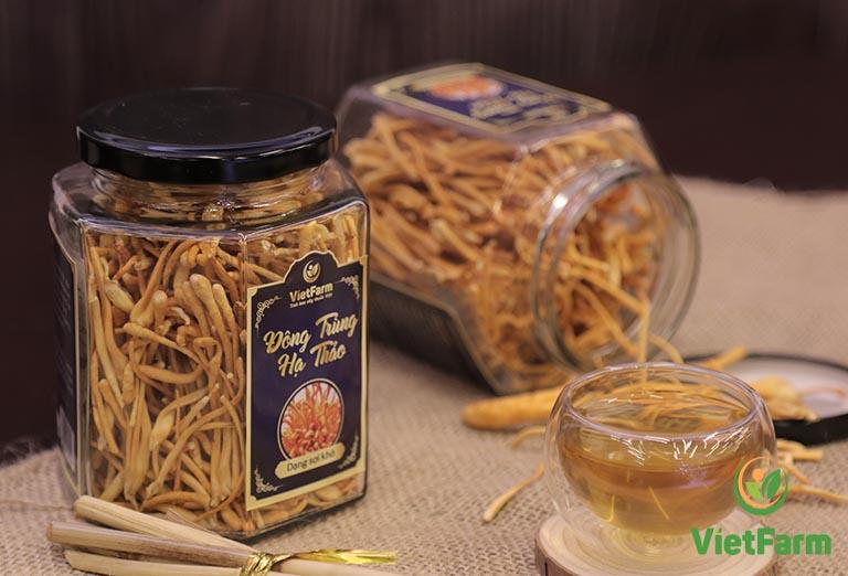 Đông trùng hạ thảo Vietfarm đảm bảo chất lượng, bình ổn về giá cả