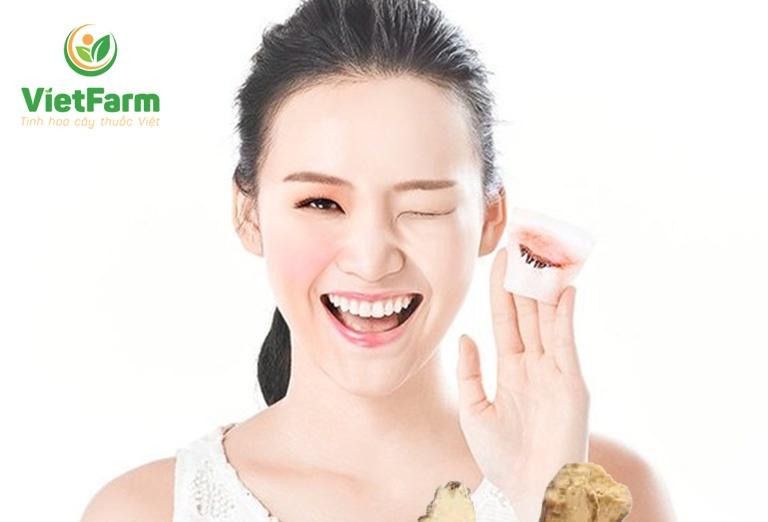 Bạch truật có tác dụng cực tốt trong phương pháp dưỡng nhan, chăm sóc da