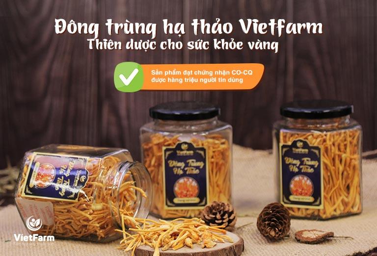 Đông trùng hạ thảo Vietfarm thành phẩm