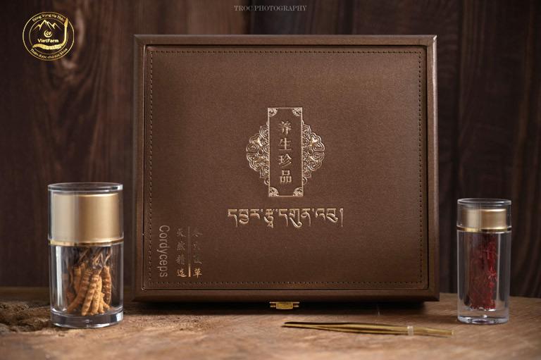 Sản phẩm đông trùng hạ thảo Tây Tạng cao cấp của Vietfarm