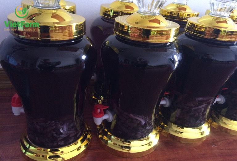 Những cách ngâm rượu ba kích đạt hương vị thơm ngon