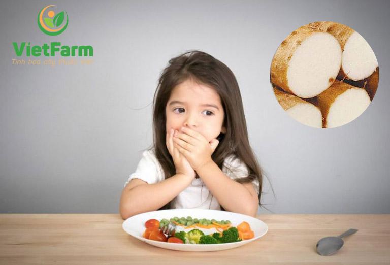 Bài thuốc từ củ mài có thể hỗ trợ giúp trẻ điều trị suy dinh dưỡng