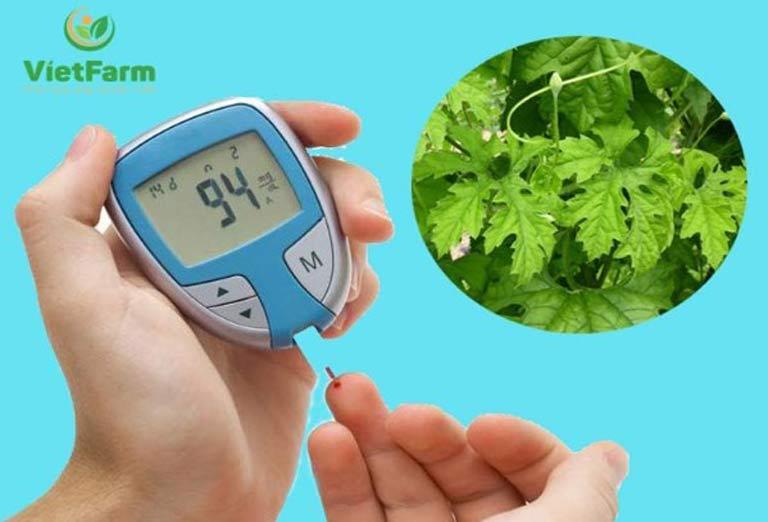 Nghiên cứu khoa học chứng minh khổ qua có tác dụng trị tiểu đường