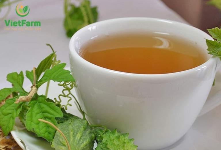 Uống trà mướp đắng trị mụn