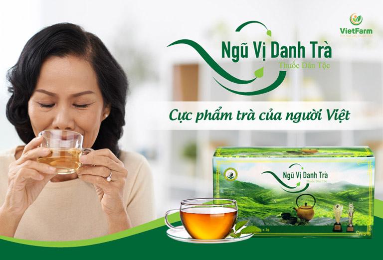 Ngũ vị danh trà - Dược trà thượng hạng của người Việt
