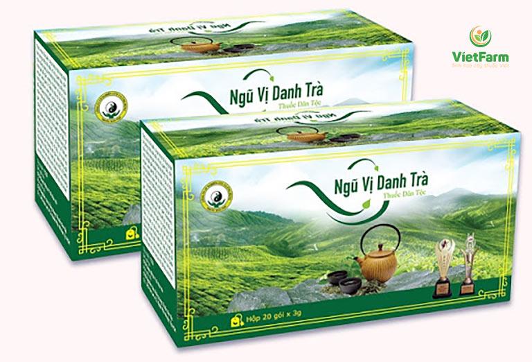 Hộp ngũ vị danh trà gồm có 20 túi lọc tiện dụng