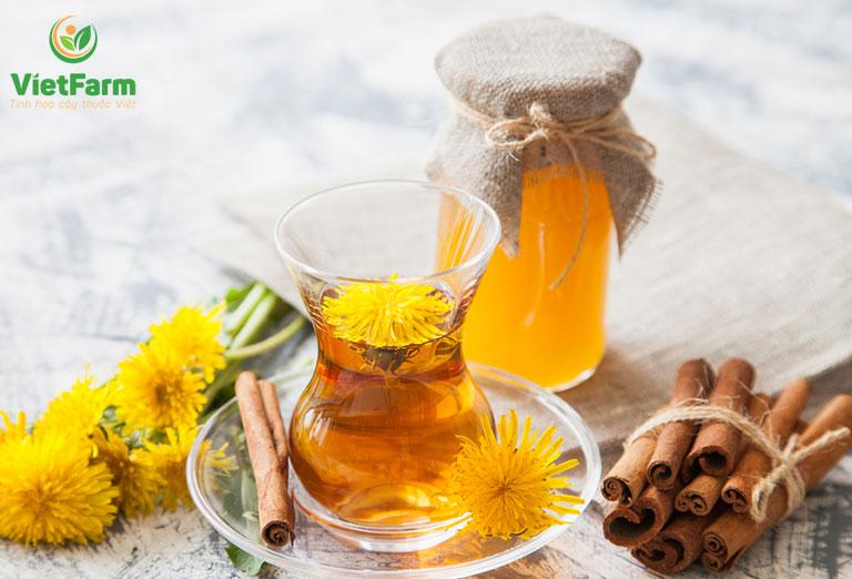 Trà có hương vị thơm ngon rất dễ uống