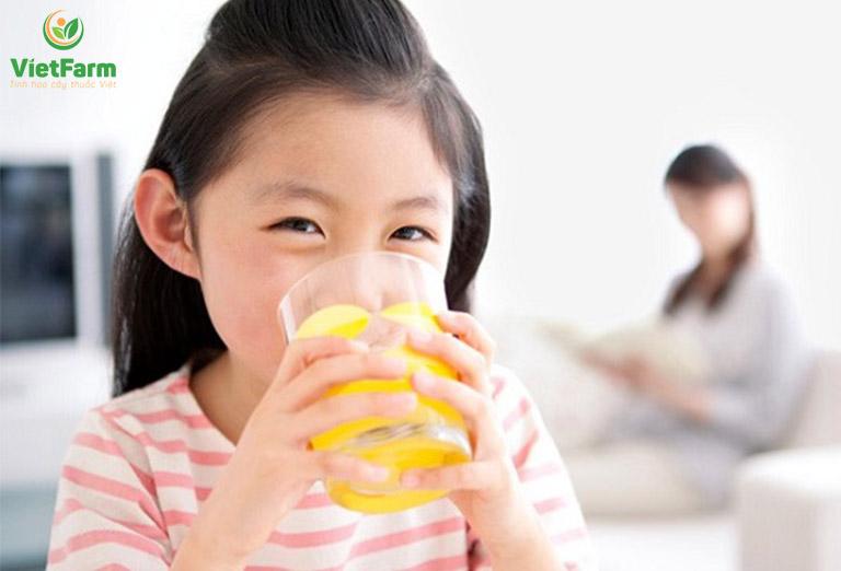 Trẻ nhỏ có thể sử dụng dược liệu