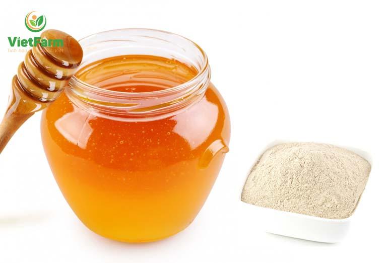 Uống tam thất với mật giúp bồi bổ sức khỏe, tăng cân hiệu quả