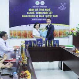 Vietfarm ký kết hợp tác ĐỘC QUYỀN với Viện NC&PT Y dược cổ truyền dân tộc đề án đông trùng hạ thảo giai đoạn II