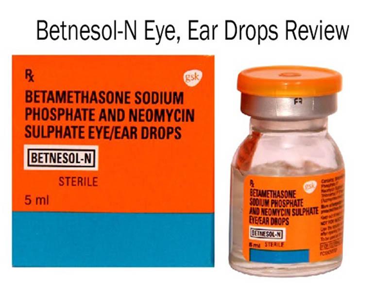 Thuốc Betnesol-N được dùng với bệnh nhân có biểu hiện ngứa ngáy trong tai