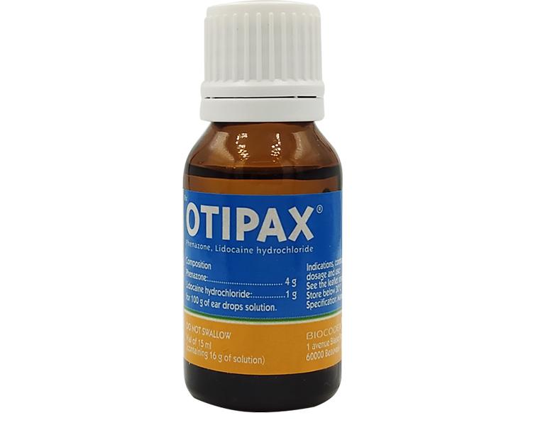 Thuốc Otipax được bào chế dạng dung dịch, thuận tiện khi sử dụng