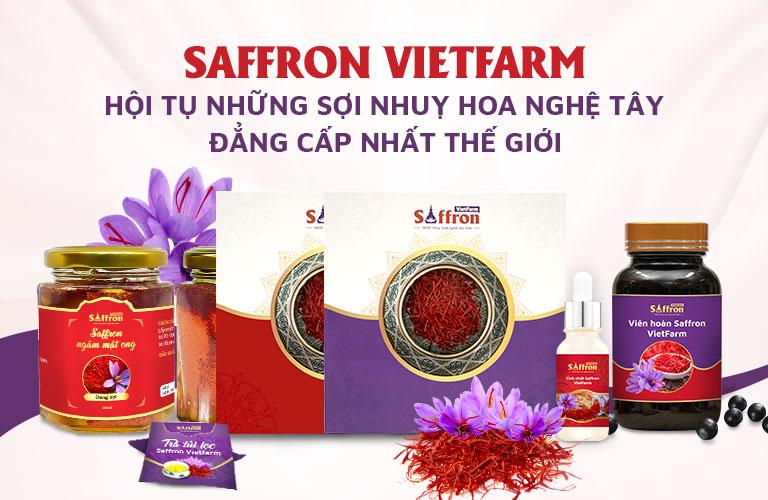 Trung tâm Vietfarm phân phối những sản phẩm nhụy hoa nghệ tây thượng hạng nhất thế giới