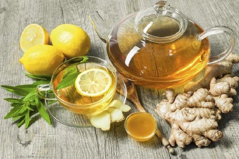 Gừng có thể được chế biến thành nước trà để uống