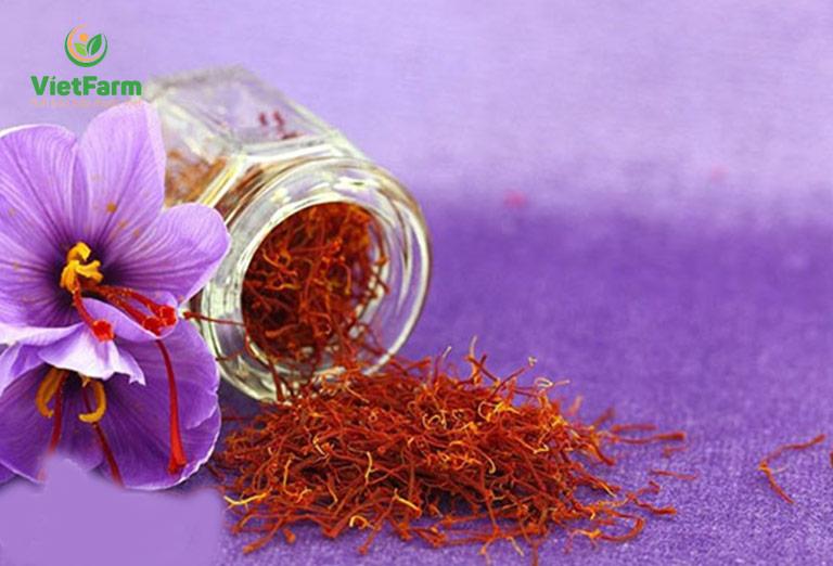 Hình ảnh nhụy hoa nghệ tây Saffron