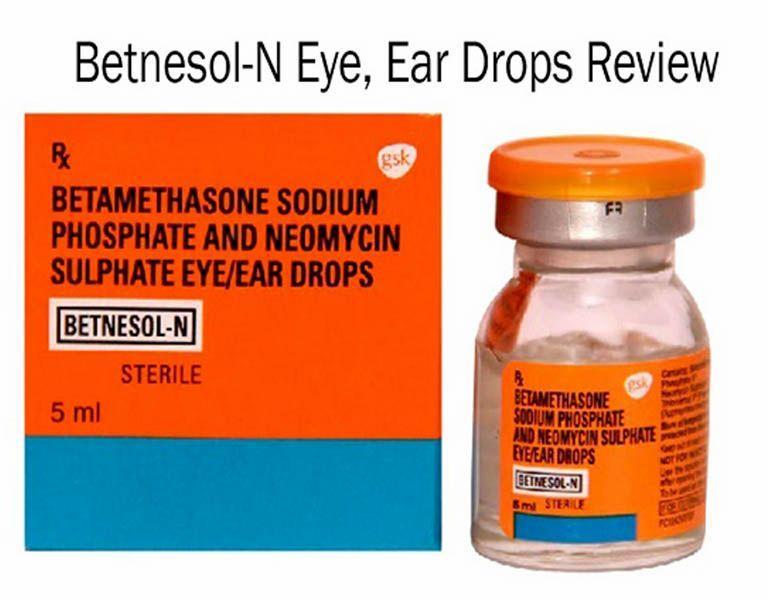 Betnesol-N là thuốc trị viêm tai giữa có chứa Steroid