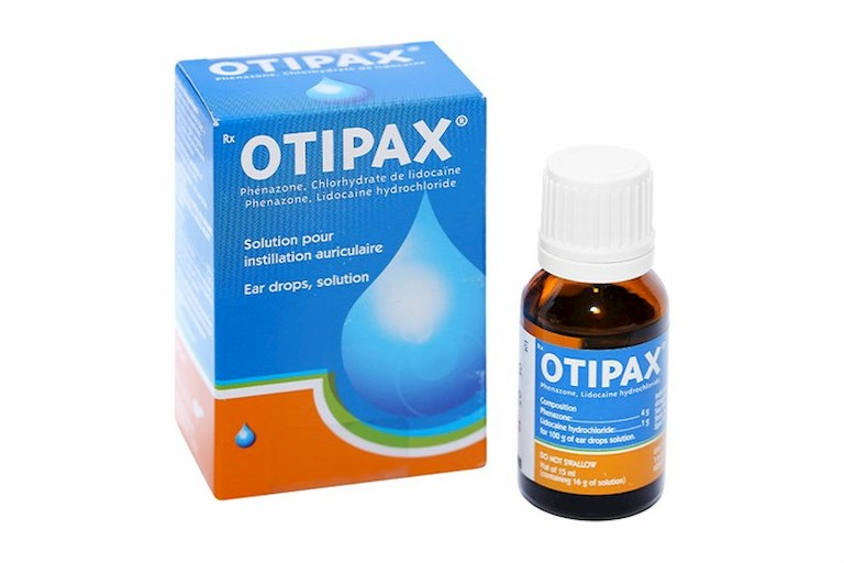 Otipax - Thuốc nhỏ giúp giảm nhanh triệu chứng bệnh viêm tai giữa