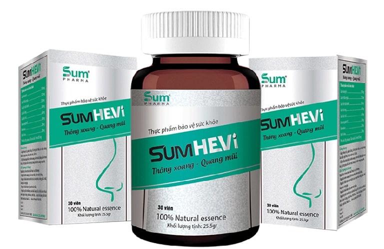 Thuốc trị viêm xoang dạng uống Sumhevi