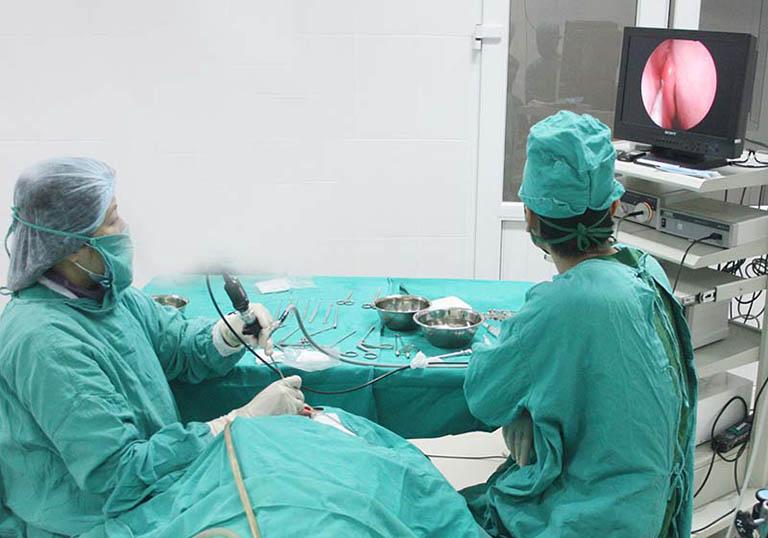 Trong những trường hợp cụ thể, bác sĩ sẽ chỉ định phẫu thuật