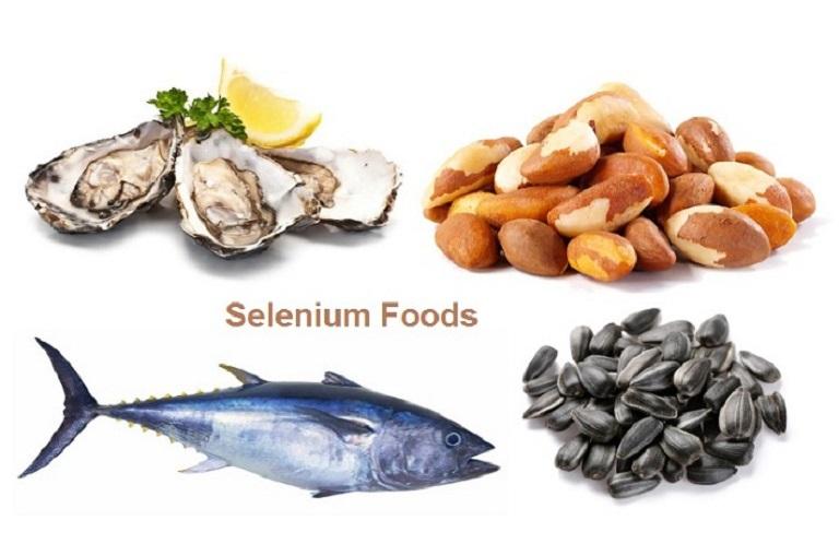 Selen trong thực phẩm giúp tăng tốc độ hồi phục của các mô bị tổn thương