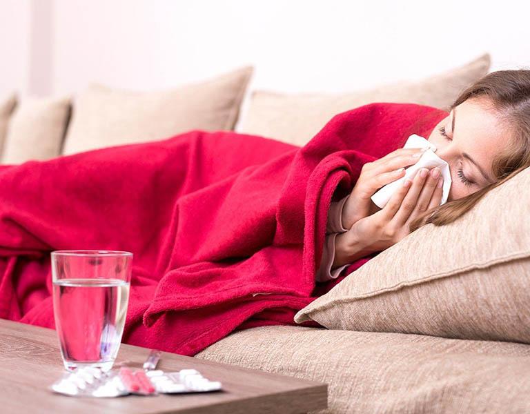 Nguyên nhân gây bệnh có thể là do mắc bệnh đường hô hấp không được điều trị triệt để
