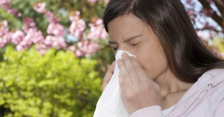 Người bệnh liên tục thấy ngứa mũi và hắt hơi