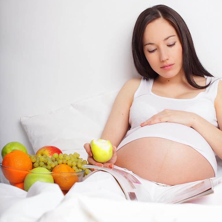 Mẹ bầu bị viêm xoang mãn tính khi mang thai cần chú trọng đến dinh dưỡng