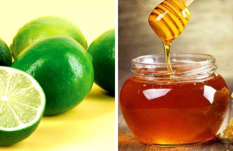 Chanh tươi kết hợp cùng mật ong hiệu quả tốt