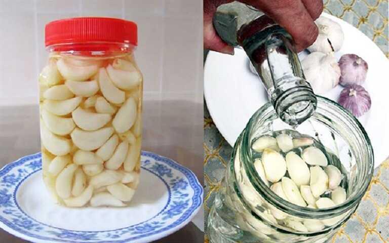 Tỏi tươi có chứa rất nhiều hoạt chất Allicin có tác dụng như kháng sinh tự nhiên