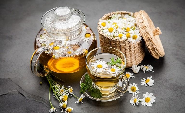 Nên uống trà hoa cúc mỗi ngày để tăng cường sức khỏe
