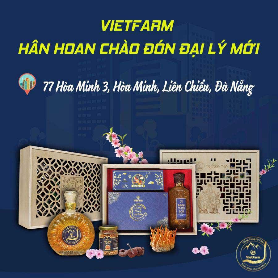 Chi nhánh thứ 17 của Đông trùng hạ thảo Vietfarm tại Đà Nẵng
