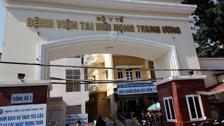 Bệnh viện tai mũi họng trung ương là cơ sở cắt amidan tốt nhất tại Hà Nội
