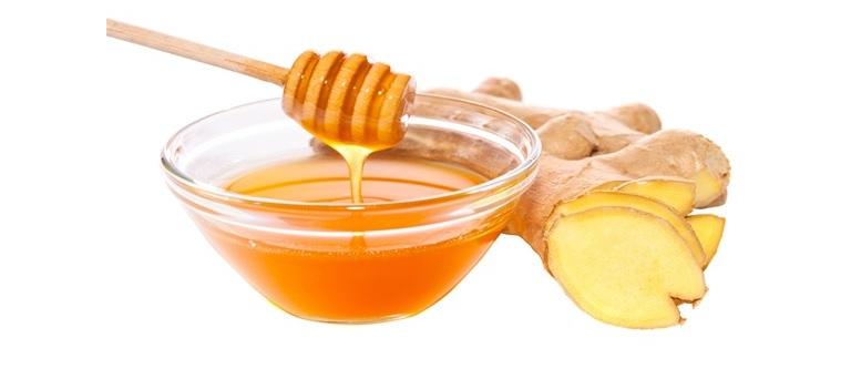 Cho trẻ ăn mật ong hấp gừng để cải thiện các triệu chứng
