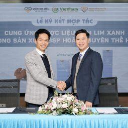 Vietfarm ký kết hợp tác cung ứng dược liệu nấm lim xanh trong sản xuất bộ sản phẩm Hoàn Nguyên thế hệ 2 của Trung tâm Da liễu Đông y Việt Nam
