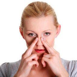 bấm huyệt chữa xoang mũi