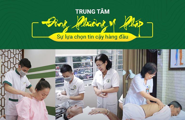 Trung tâm ứng dụng Đông phương Y pháp quy tụ đội ngũ bác sĩ giỏi