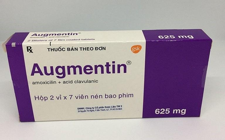 Amoxicillin dạng kết hợp thường được sử dụng trong viêm xoang mãn tính