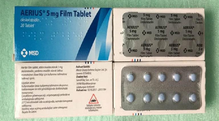 Desloratadine là thuốc trị viêm xoang mãn tính thuộc nhóm kháng H2 - Histamin