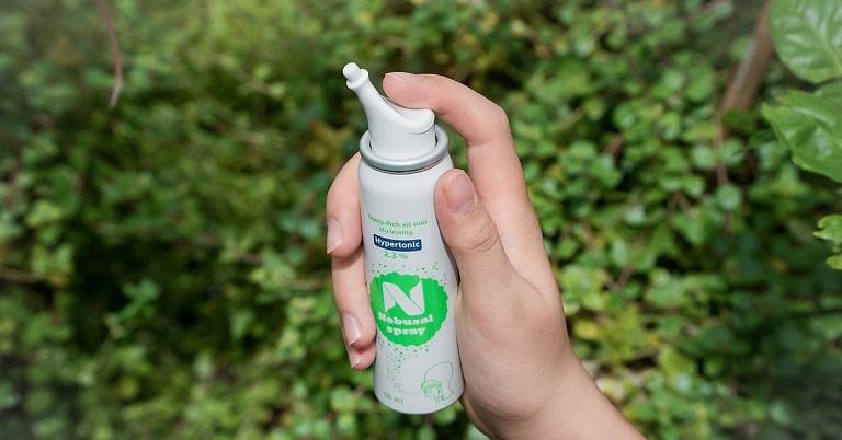 NaCl ưu trương là dạng muối giảm tình trạng khó thở, xung huyết...