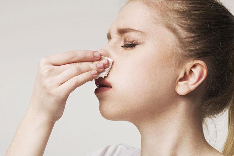 Viêm mũi dị ứng bội nhiễm là giai đoạn phát triển của bệnh viêm mũi dị ứng