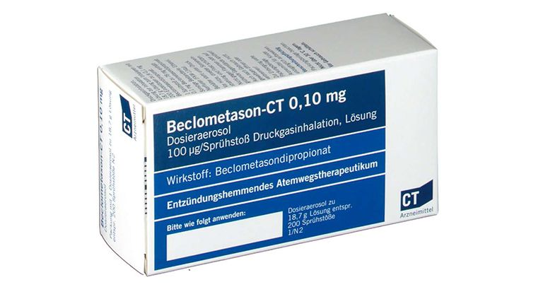 Thuốc trị viêm mũi dị ứng Beclomethasone dipropionate