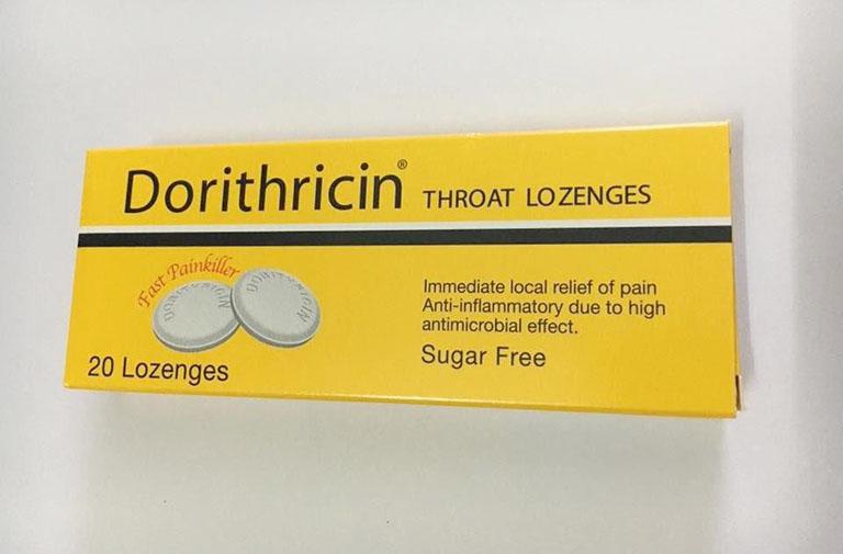 Thuốc Dorithricin chữa viêm họng hiệu quả