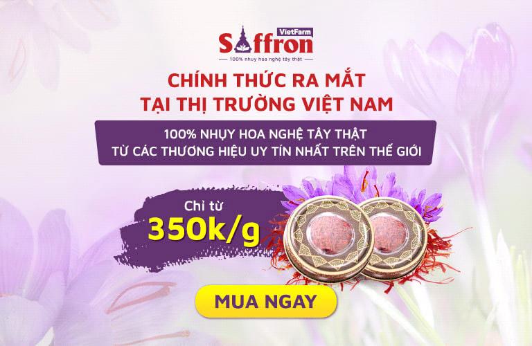 Cơ hội vàng sở hữu Saffron chất lượng thượng đỉnh nhất thế giới với giá ưu đãi
