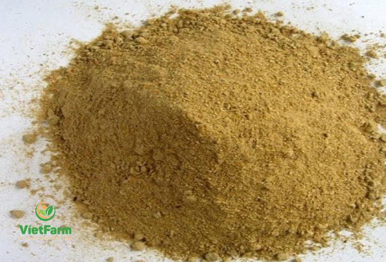 Dược liệu được tán thành bột để sử dụng