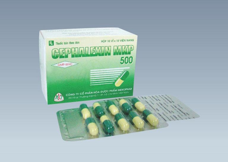 Thuốc Cephalexin điều trị viêm họng