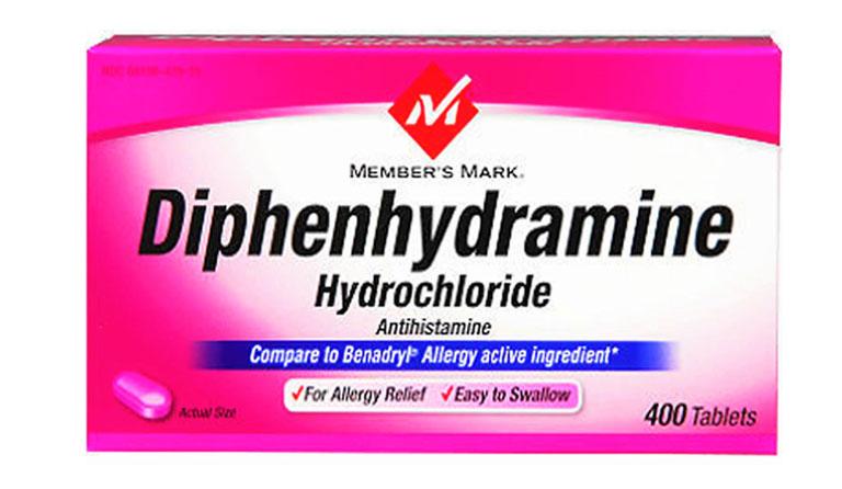 Thuốc Diphenhydramin