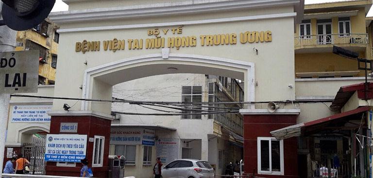 Bệnh viện Tai Mũi Họng TW chữa viêm mũi dị ứng