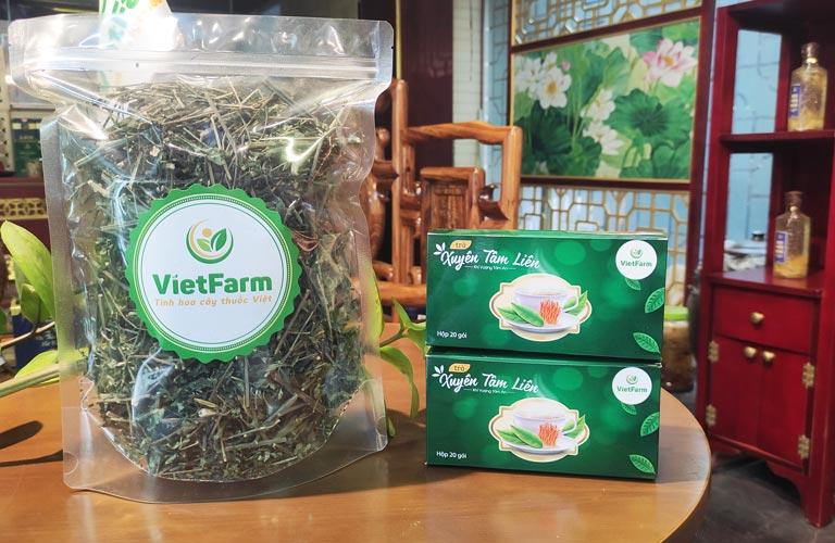 Xuyên tâm liên Vietfarm đạt chuẩn, được Bộ Y Tế kiểm định chất lượng