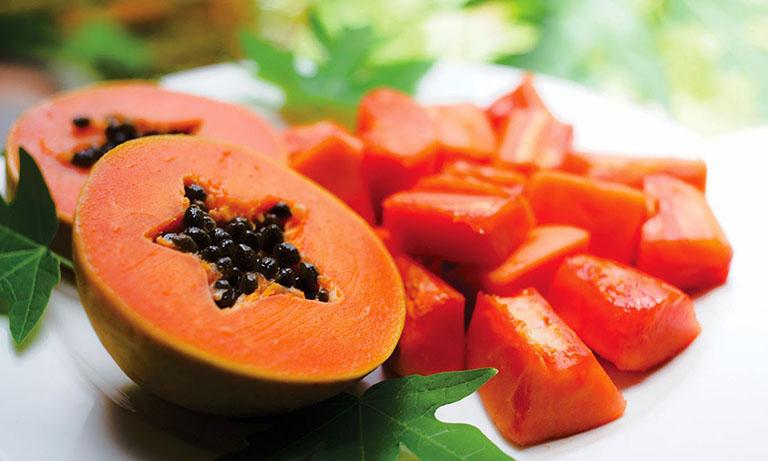 Đu đủ là trái cây tốt cho người bệnh